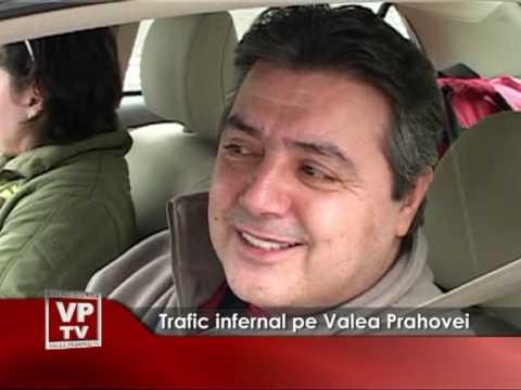 Trafic infernal pe Valea Prahovei