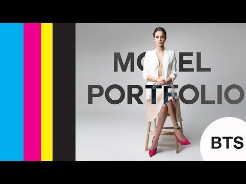 Model Portfolio Fashion Shoot Behind The Scenes