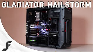 GAMING PC REVIEW - Gladiator Hailstorm!