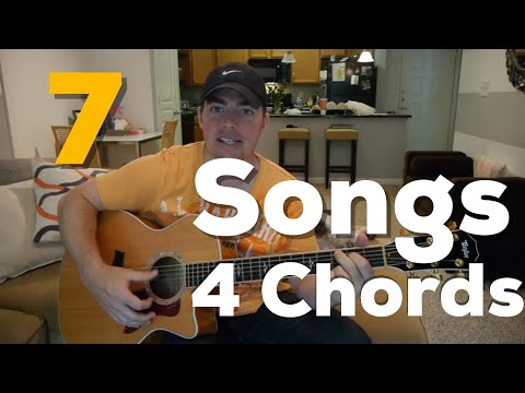 7 Country Songs with 4 Chords