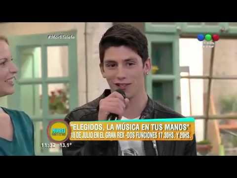 Matias Carrica en Morfi Telefe cantando Mal Bicho (02/07/2015) #Elegidos