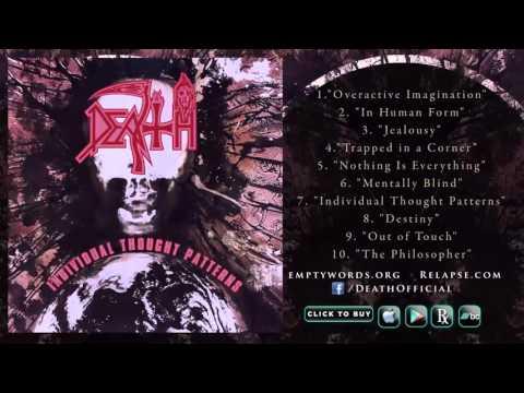 DEATH -'Individual Thought Patterns'  Reissue (Full Album Stream) (видео)