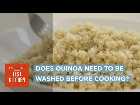 Why All Quinoa Should Be Washed Before Cooking