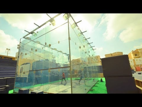 Squash tips: Playing in hot court conditions