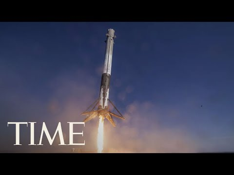 SpaceX Launches First Rocket For NASA: Watch As Falcon 9 Launches Towards Space | TIME_Űrhajó videók