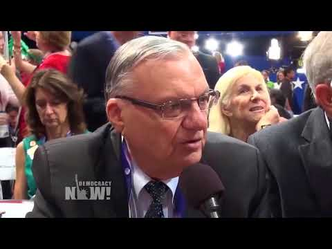 Arizona Migrant Justice Activist: Pardon the Immigrants Arpaio Criminalized, not the Racist Sheriff