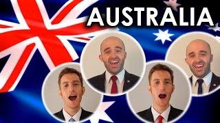 Capella Australia  city pictures gallery : Advance Australia Fair (National Anthem) - A Cappella quartet cover