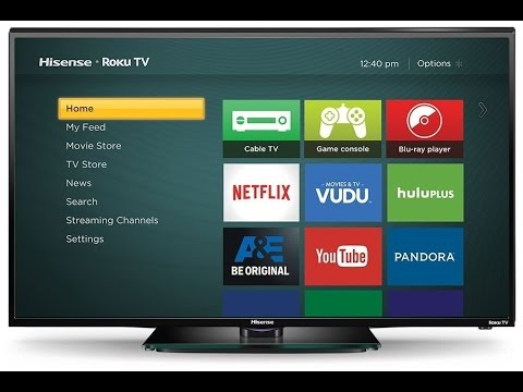 Hisense 40H4C 40 Inch 1080p Roku Smart LED TV Model 2015