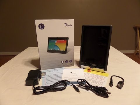 Unboxing of the Quad Core Y88X Tablet Express Dragon Touch 7in tablet
