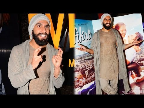 Ranveer Singh Visits PVR Theater For Audience Reac