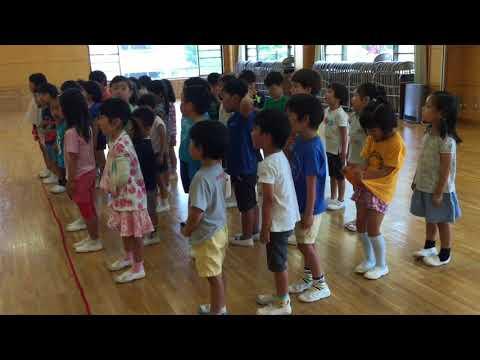 和光鶴川幼稚園 星組のうたとサッカー
