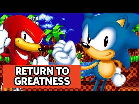 We Return To The 90's With Sonic Mania (видео)