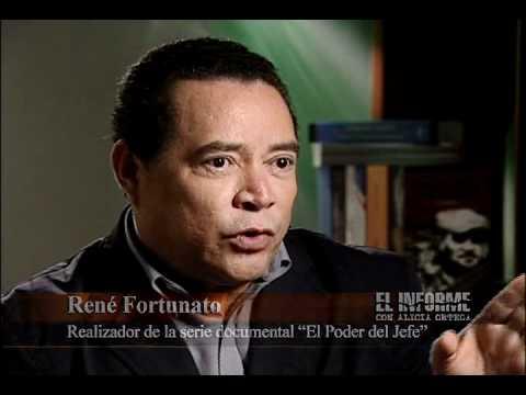 RENE FORTUNATO EN EL INFORME CON ALICIA ORTEGA