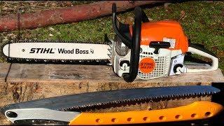 10. Stihl MS 251 Chainsaw VS Silky BigBoy 2000 Saw