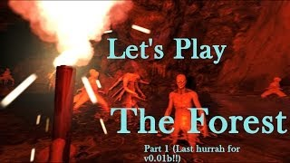 Let's Play The Forest (Survival Horror Sandbox Crafting PC Game) Part 6-4 Gameplay