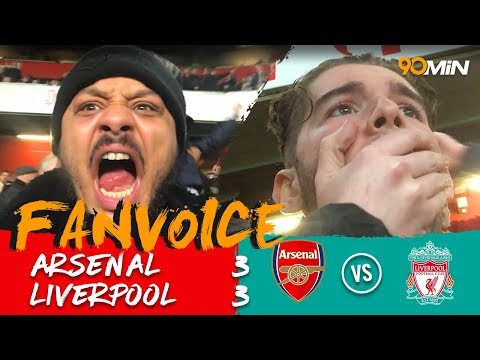 Firmino Denies Arsenal's Comeback In A 3-3 Thriller! | Arsenal 3-3 Liverpool | 90min Fanvoice