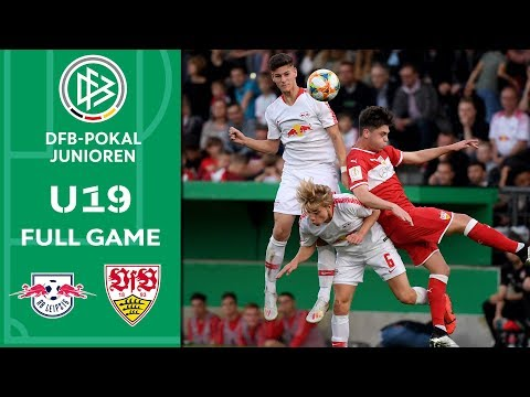 RB Leipzig vs. VfB Stuttgart | Full Game | U19 DFB Cup | Final