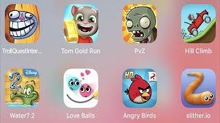 Video Troll Quest Internet,Tom Gold Run,PVZ,Hill Climb,Water 2,Love Balls,Angry Birds,Slither.io MP3, 3GP, MP4, WEBM, AVI, FLV Juni 2019
