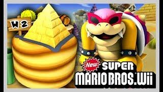 New Super Mario Bros. Wii - Mundo 2 - Parte [2/2] 100 %