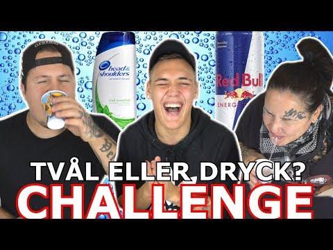 TVÅL eller DRYCK CHALLENGE w/ Lets Feast