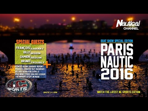 NC Sports 9 Dec|From Paris Nautic 2016, Vendée Globe, Gàbart, Troublé