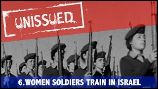 """This film was unused by British Pathé editors of the time and not screened in cinemas. In an attempt to bring hidden films to light, we have decided to create """"British Pathé Unissued"""".Links to other videos related to this topic:Israel - Girls Train To Defend  (1955):http://www.britishpathe.com/video/israel-girls-train-to-defend/query/Israel+womenIsrael Promotes Women's Army (1957): http://www.britishpathe.com/video/israel-promotes-womens-army/query/Israel+womenIsrael Intensifies Paras Training (1957):http://www.britishpathe.com/video/israel-intensifies-paras-training/query/Israel+womenFOR LICENSING ENQUIRIES VISIT http://www.britishpathe.com/"""