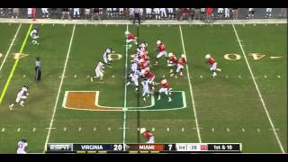 Tommy Streeter vs Virginia 2011