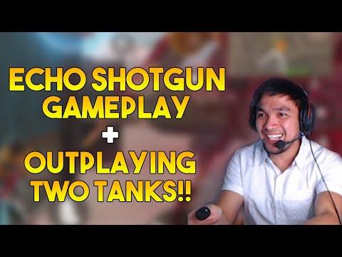ECHO SHOTGUN GAMEPLAY | HOW TO OUTPLAY TWO TANKS!