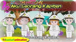 AKU SEORANG KAPITEN | Lagu Anak Kartun bersama Diva | Kastari Animation Official
