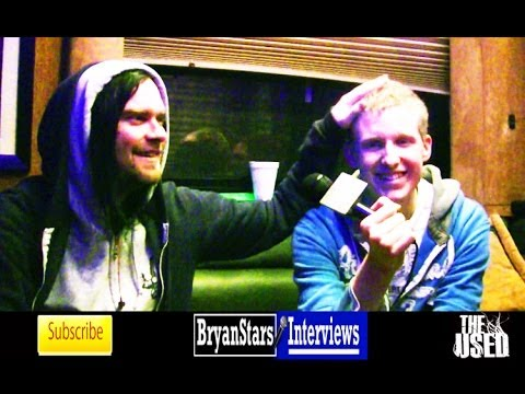 bryanstars - Check out my backstage interview with The Used members Bert Mccraken and Quinn Allmanat Warped Tour 2012 Watch my first interview with The Used HERE: http://...