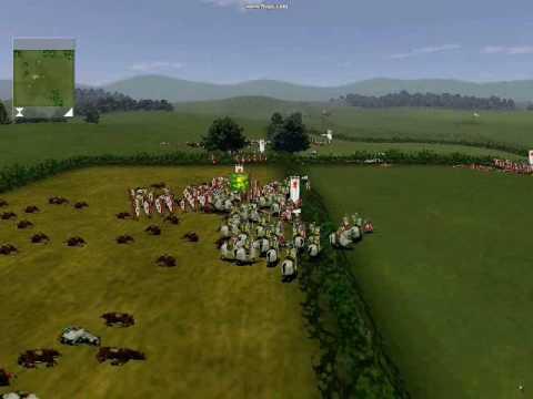 Medieval Total War 1 - Danmark vs Italia.wmv видео