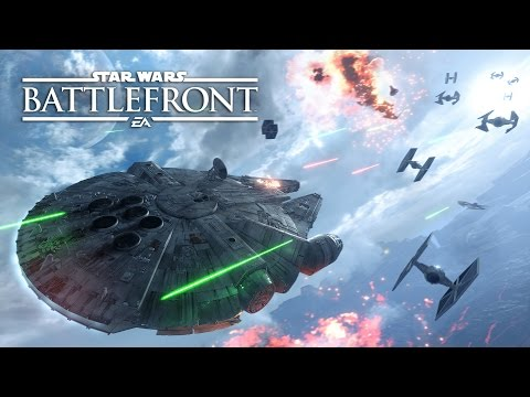 Star Wars Battlefront  Fighter Squadron Mode Gameplay