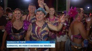 Carnaval em clube de Igaraçu do Tietê atrai foliões