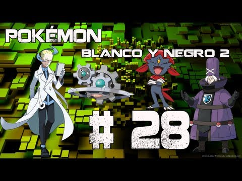 Guia/Walkthrough Pokémon Blanco y Negro 2 | Fragata Plasma (Final vs. Acromo) | #28