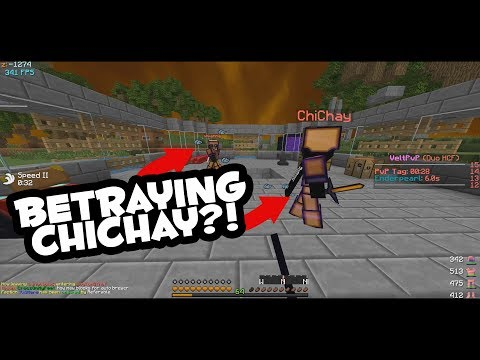 HOW TO HCF [3] - THE FIRST PVP OF THE MAP + BETRAYING OUR FRIENDS? (Minecraft PvP)