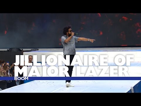 Jillionaire of Major Lazer - 'Be Right There' (Live At The Summertime Ball 2016)