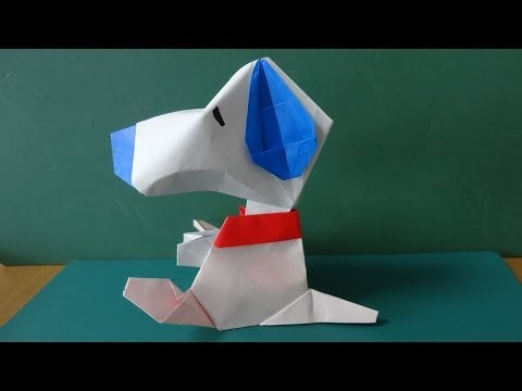 Animals Tutorial - 029 -- Dog (Snoopy face)