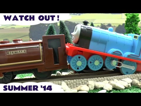 Thomas - Thomas and Friends Spider-Man Disney Cars Play Doh Lego Duplo Mickey Mouse Hot Wheels montage of short clips from videos made by ToyTrains4u channel over the last 3 months. To see the complete...