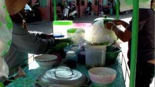 Neighborhood Life In Jomtien Beach Thailand  Thai Pattaya Chonburi Video