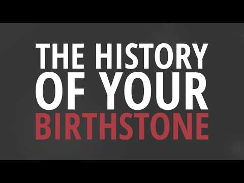 The History of Your Birthstone - GEM Pawnbrokers