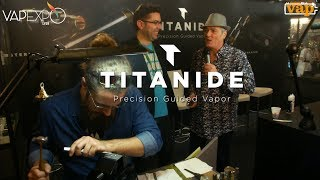 TITANIDE : des artistes gravent votre mods au marteau et au burin !