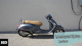 8. NEWS UPDATE !!!2018 Vespa GTS 300 GTS 300 Touring Chassis Overview