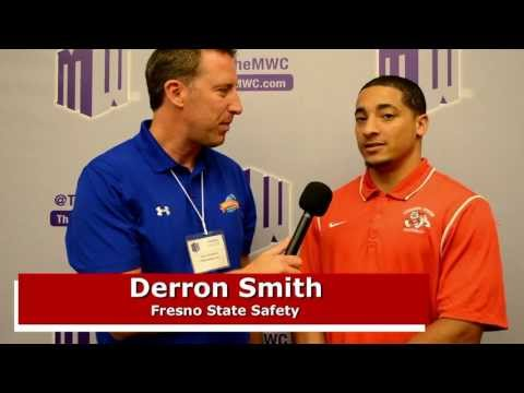 Fresno State safety Derron Smith from MWC Media Days video.