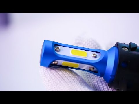 Led Headlight Conversion Kit Review H13(9008) VS Halogen | Vplus U Series(with Fan)