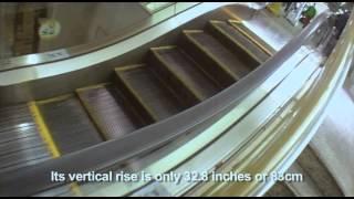 【神奈川県】乗ってる時間わずか5秒!?世界一短いエスカレーター。