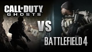 RAP BATTLE - COD GHOSTS VS BATTLEFIELD 4 |  BRYSI FEAT. MEZE