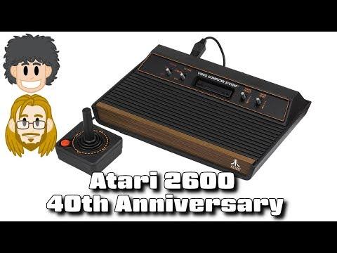 Atari 2600 (VCS) 40th Anniversary - #CUPodcast