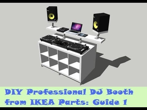 Guide: DIY DJ Booth from IKEA Parts - Build 1