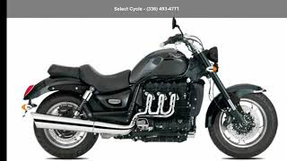 7. 2018 Triumph Rocket III Roadster ABS Cruisers