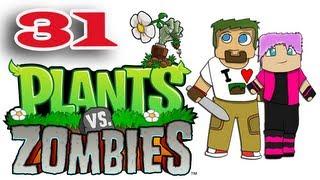 ч.31 Растения против Зомби с кошкой - Игровой автомат и Дождь из семян